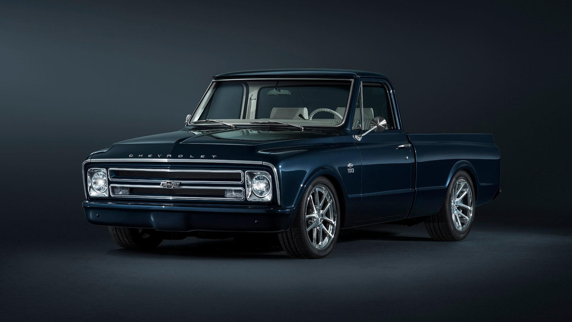 Chevy Builds Beautiful 1967 Restomod C 10 Pickup For Sema