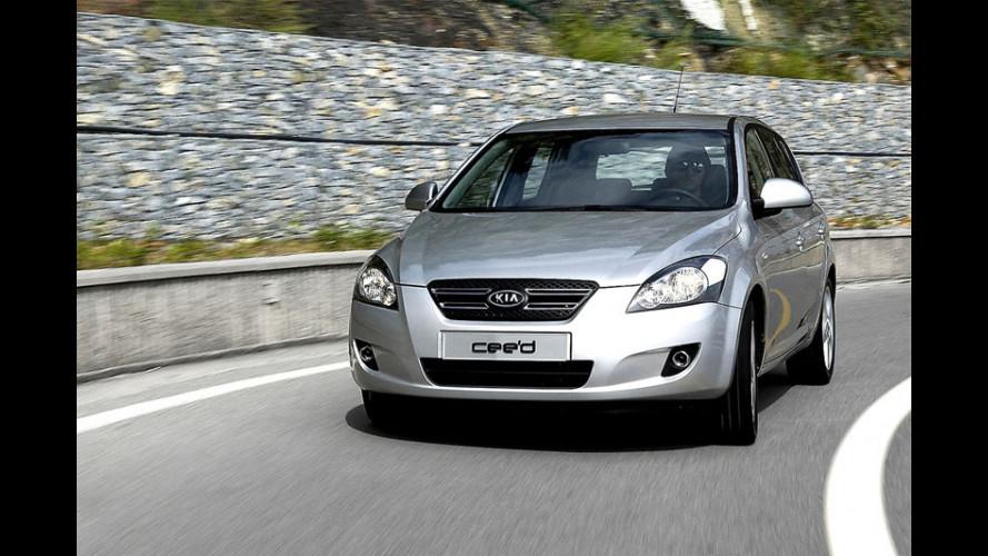 nuova Kia Cee'd: si parte da 14.800 Euro