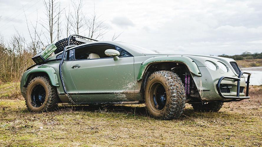 Bentley Continental GT Rally Edition, locura para el campo