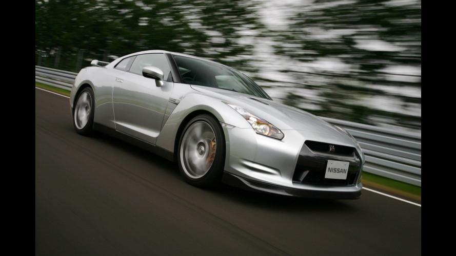 Solo 58 i rivenditori Nissan GT-R in Europa