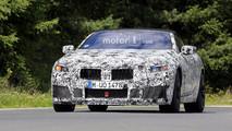 BMW M8 kabrió kémfotók