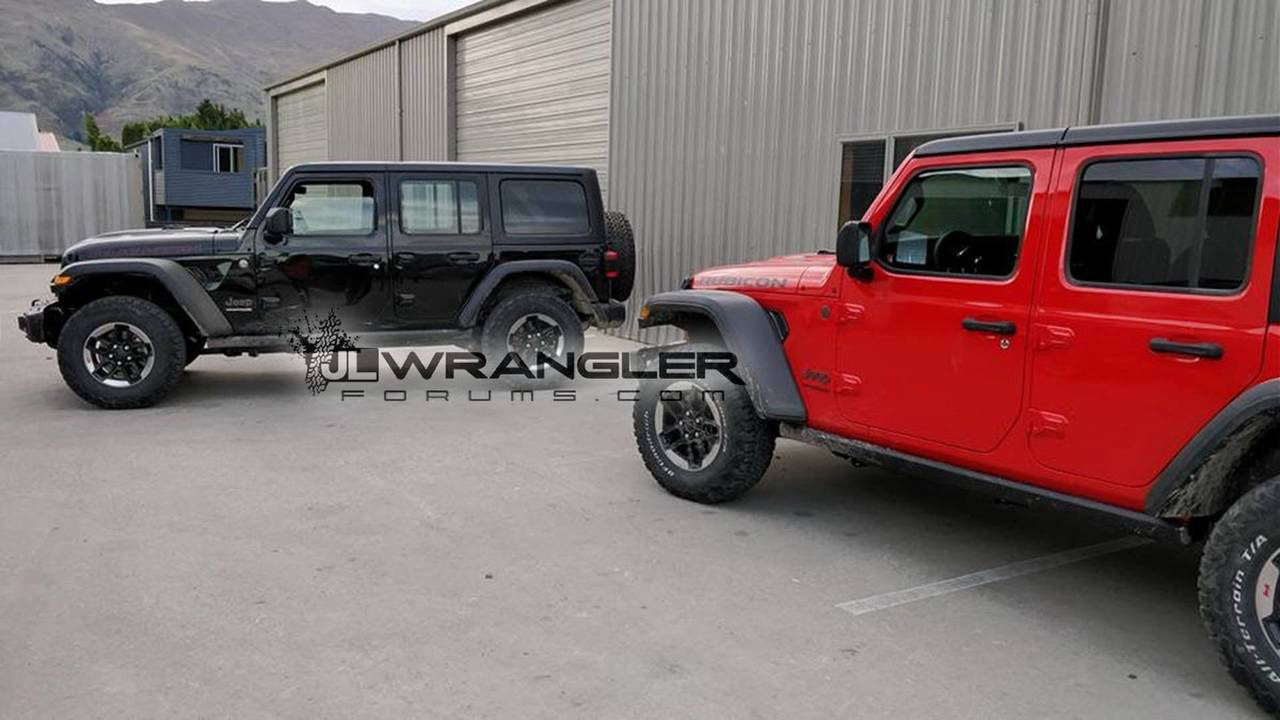 2018 jeep wrangler unlimited rubicon spotted in the metal. Black Bedroom Furniture Sets. Home Design Ideas