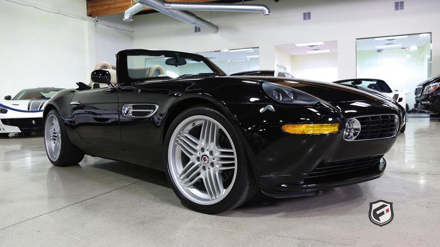 Nadir bulunan BMW Z8 Alpina sağlam fiyatla satışta