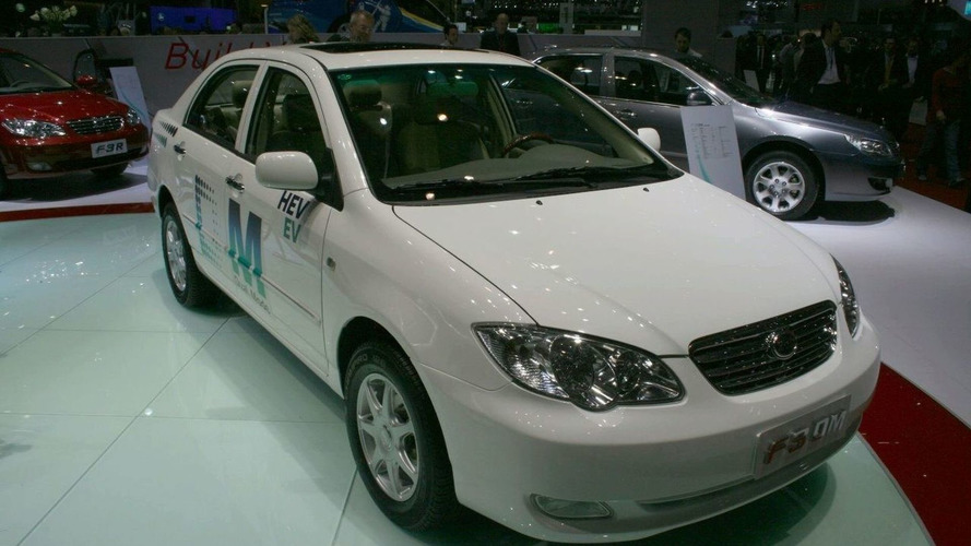 BYD present F3 DM electric research vehicle in Geneva