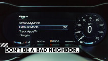 Ford Mustang con sistema Good Neighbour