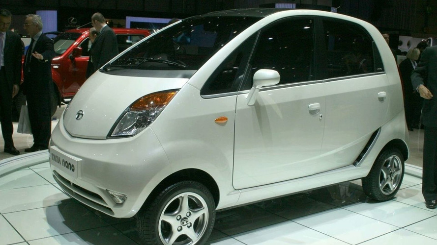 Tata Nano Makes a Pit Stop in Europe