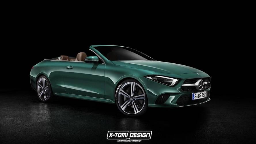 Mercedes-Benz CLS Cabriolet render 2019