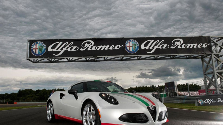 Alfa Romeo 4C safety car unveiled