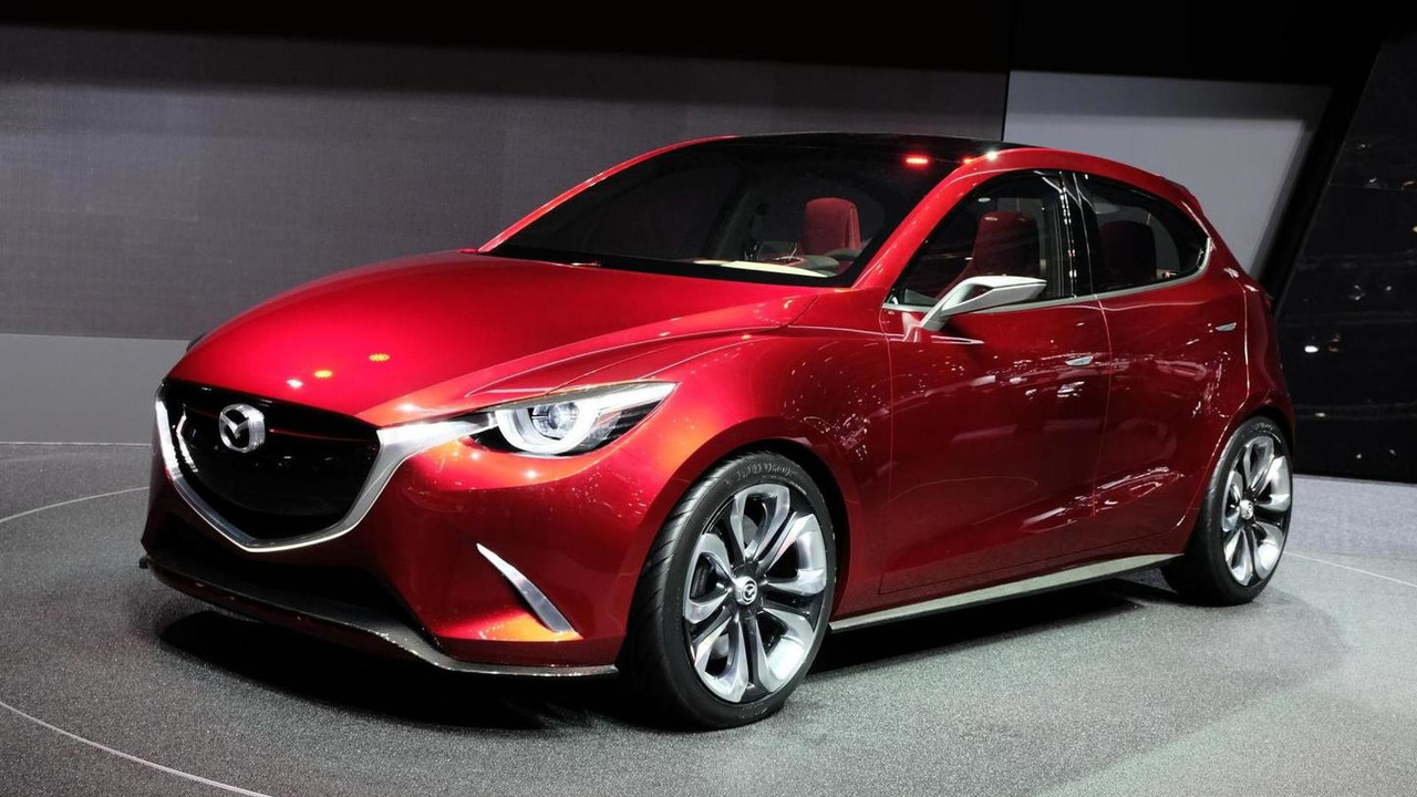 Mazda Hazumi concept debut in Geneva
