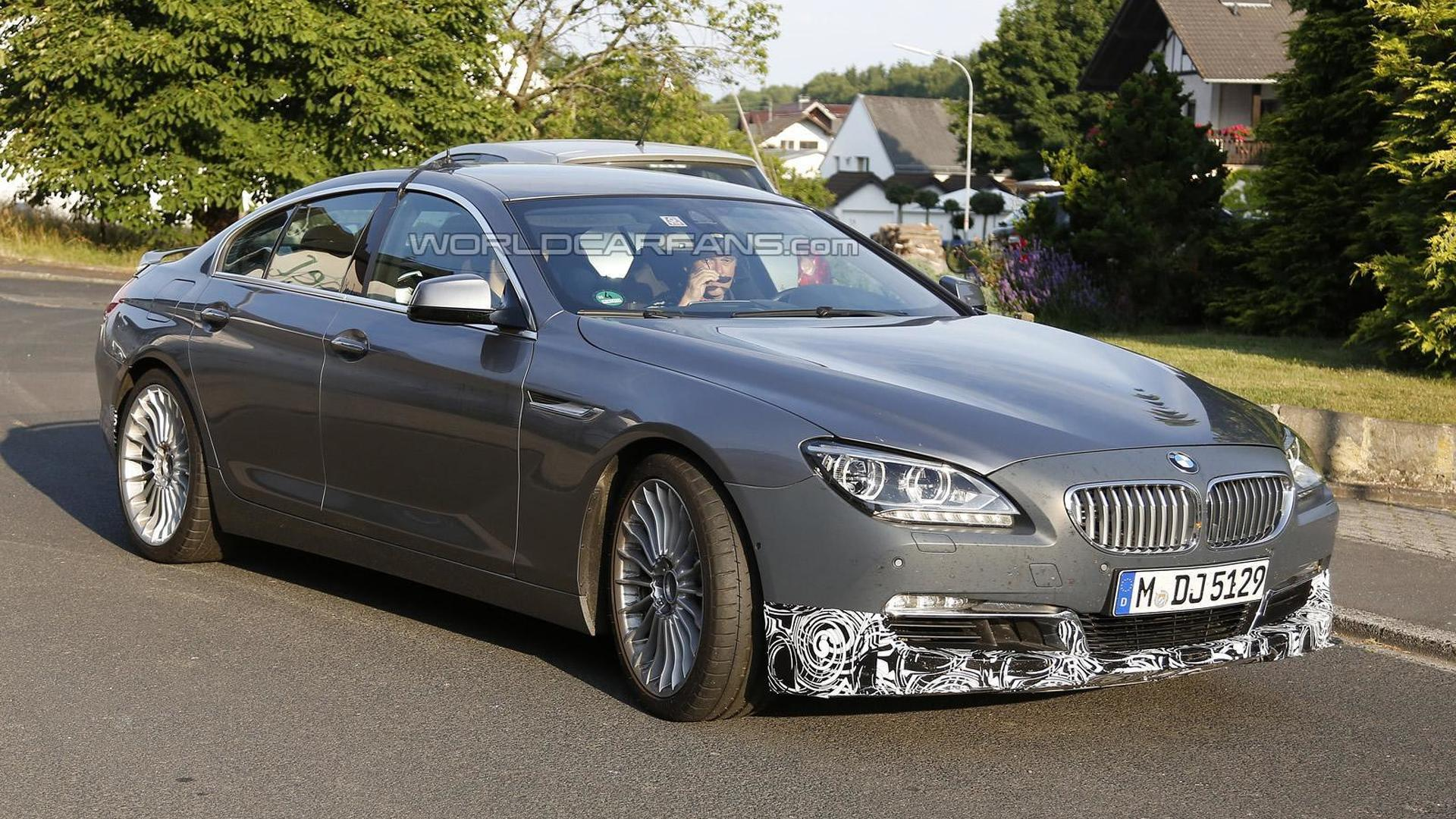 Alpina 6-Series Gran Coupe spied testing