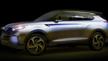 SsangYong previews XLV concept, debuts next month in Geneva