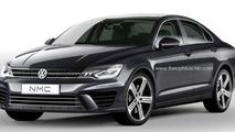 Volkswagen Jetta CC render