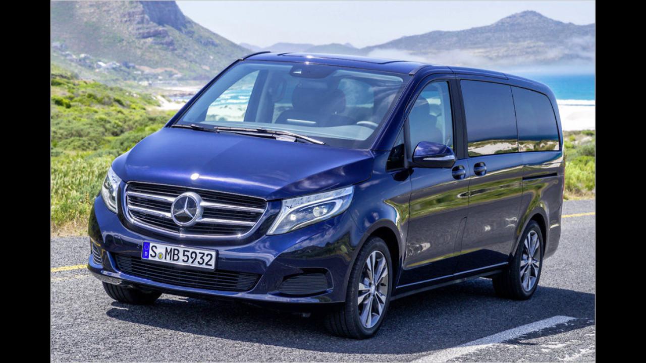 Vans, Platz 3: Mercedes V-Klasse (4.071 Stück)