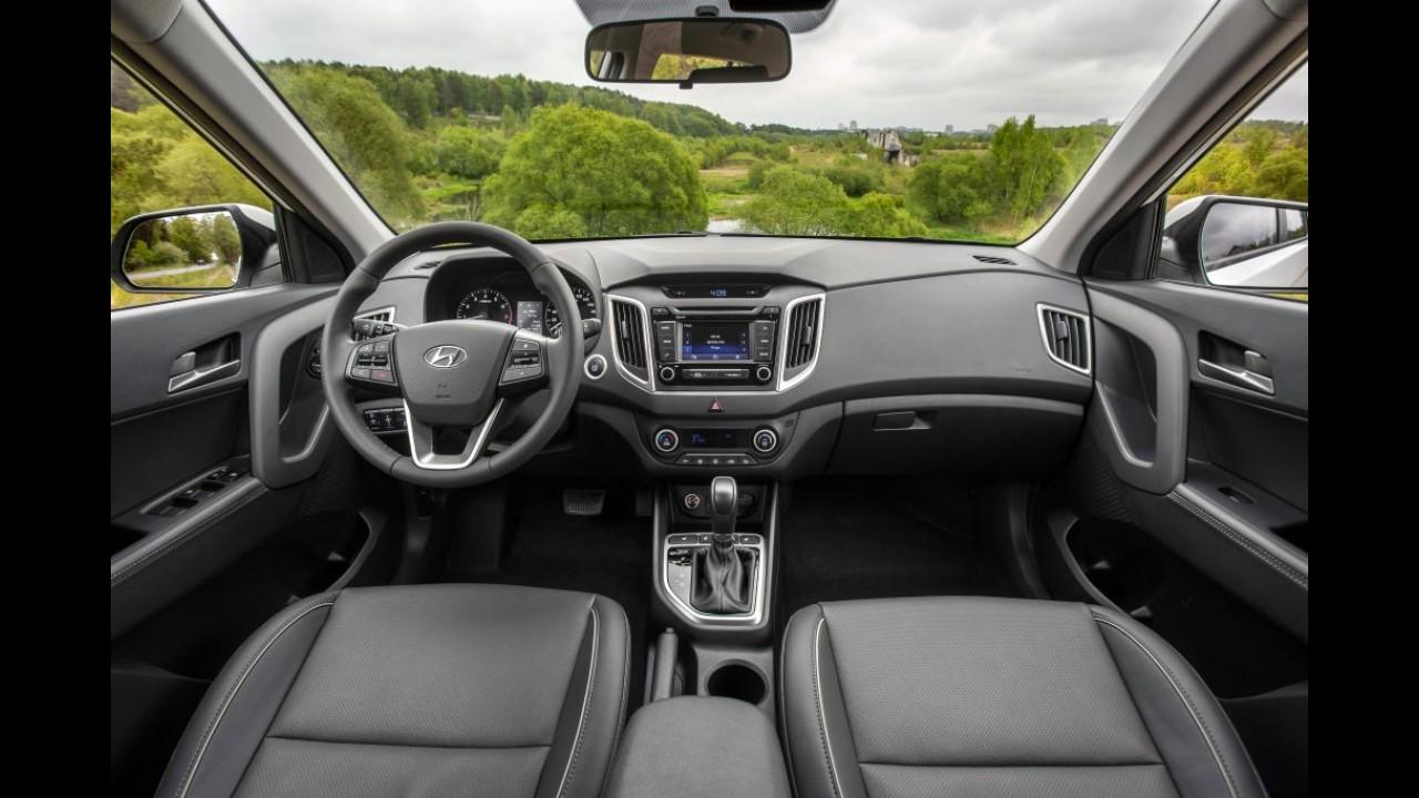 No Brasil em breve, Hyundai ix25 é lançado na Rússia com motor 2.0
