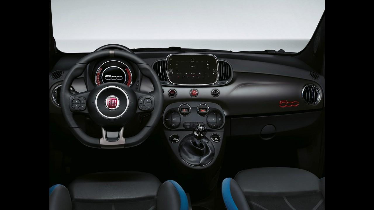 """Fiat 500S: versão de esportiva """"light"""" é revelada em fotos oficiais"""