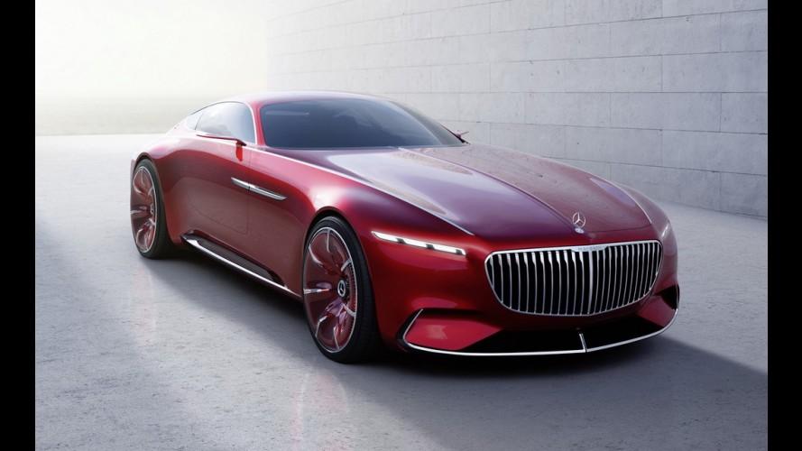 Mercedes revela o superlativo Vision Maybach 6: rodas aro 24 polegadas, 5,7 metros e 750 cv!