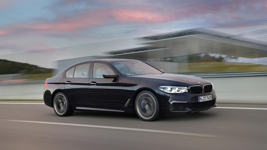 BMW stoppe momentanément la production de la M550i