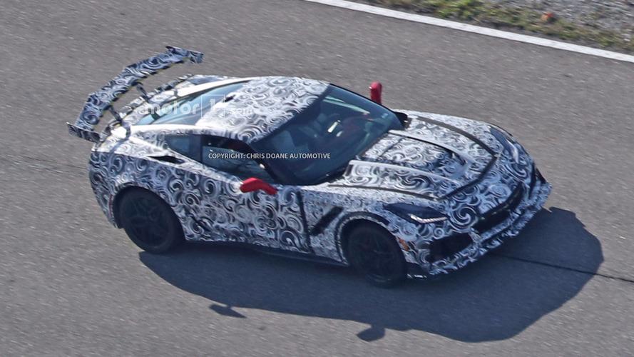 Photos espions - Dernières mises au point pour la Corvette C7 ZR1 !