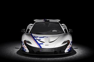 McLaren P1 Inspired by Alain Prost Debuts at Goodwood