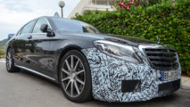2017 Mercedes-AMG S63 spied