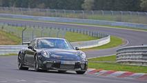 2017 Porsche 911 GT3 facelift spy photo