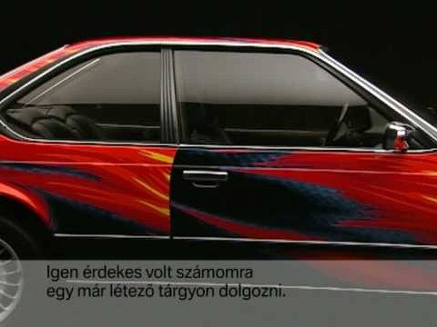 BMW Art Car - 1982 Ernst Fuchs 635 CSi.mpg