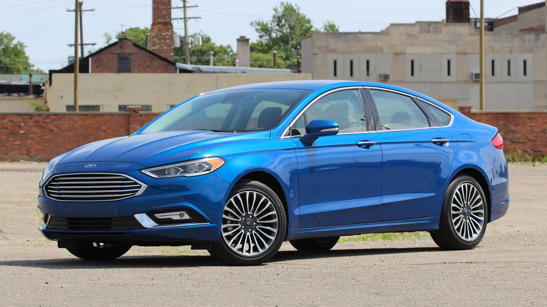 review  ford fusion titanium