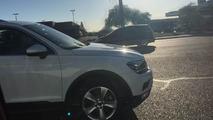 Volkswagen Tiguan LWB spy photo