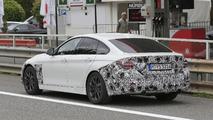 2017 BMW 4 Series Gran Coupe facelift spy photo