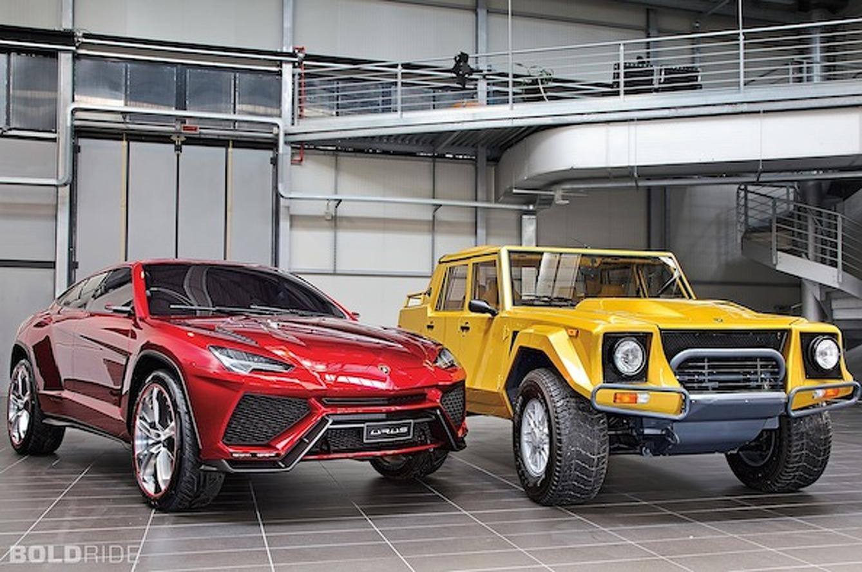 Wheels Wallpaper: Lamborghini Urus Concept and LM002 SUV