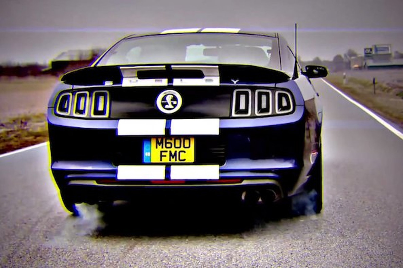 Watch this Shelby GT500 Go Flat-Out on the Autobahn [video]