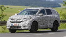 2018 Honda CR-V spy photos from Germany