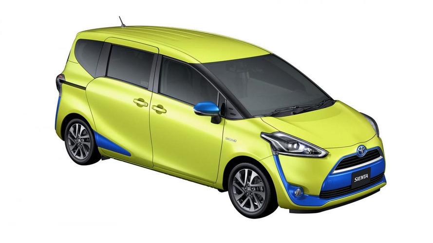 Toyota Sienta revealed with hybrid version