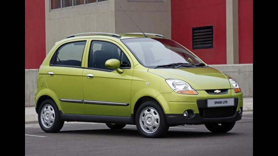 Chevrolet Spark Lite ganha motor 0.8 no Uruguai