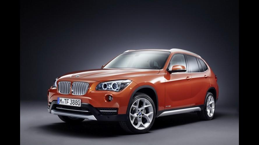 Vazou: BMW X1 reestilizado aparece em primeiras imagens oficias