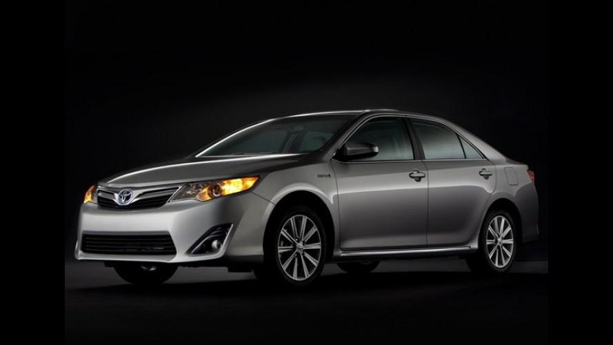 Toyota começa a produção do Camry híbrido em Taiwan