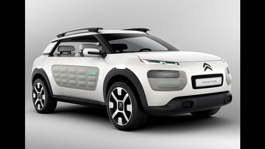 Citroën Cactus de produção será apresentado em fevereiro de 2014