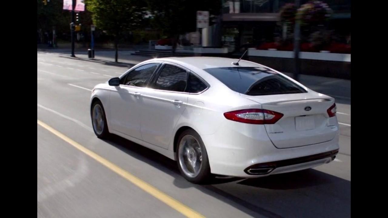 Vídeo: Ford lança primeiro vídeo comercial do Novo Fusion