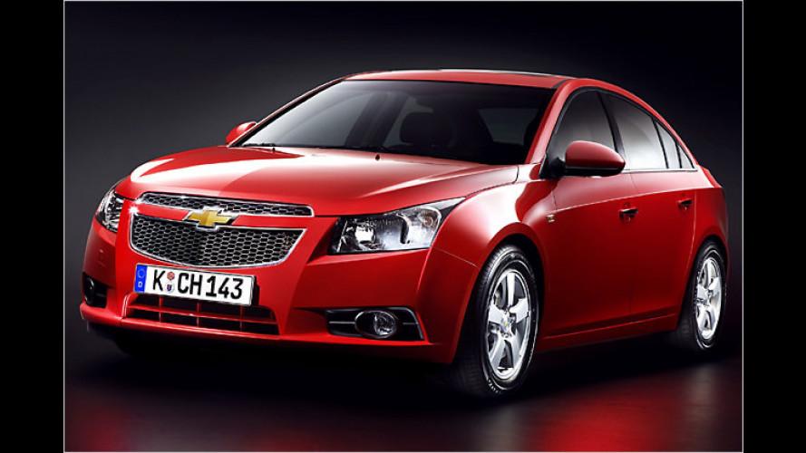 Schnittiger Gleiter: Chevrolet präsentiert den neuen Cruze