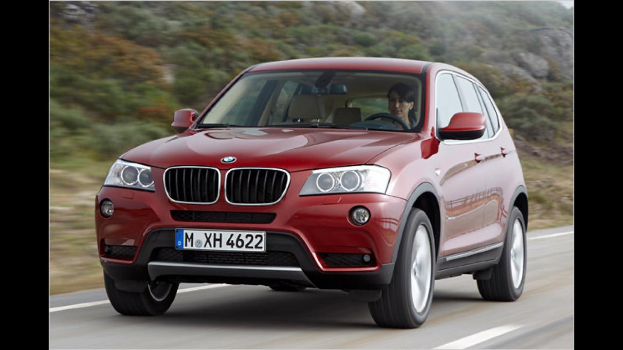 SUVs: BMW X3 xDrive20d