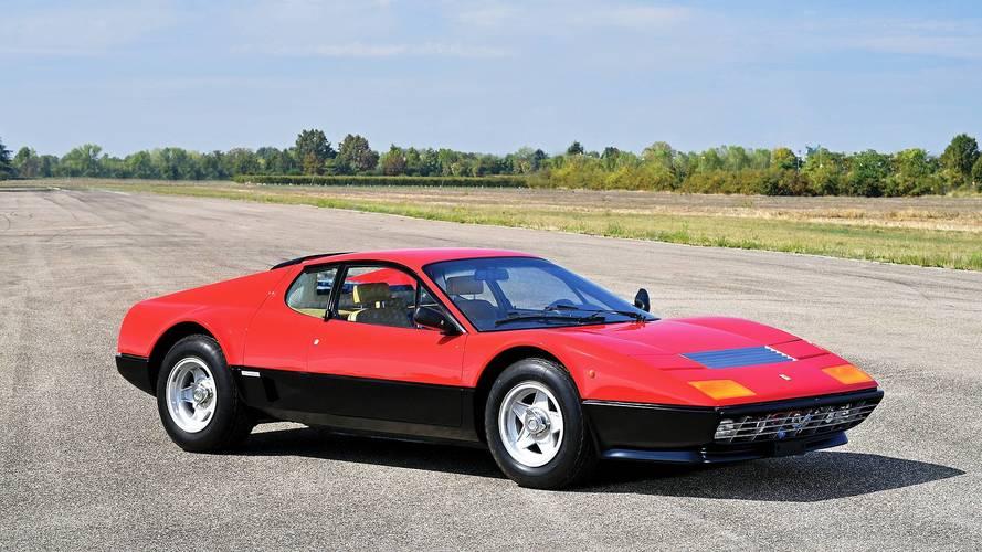Ferrari Berlinetta Boxer, la prima col V12 posteriore