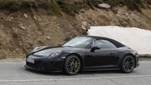 Porsche 911 spy photo