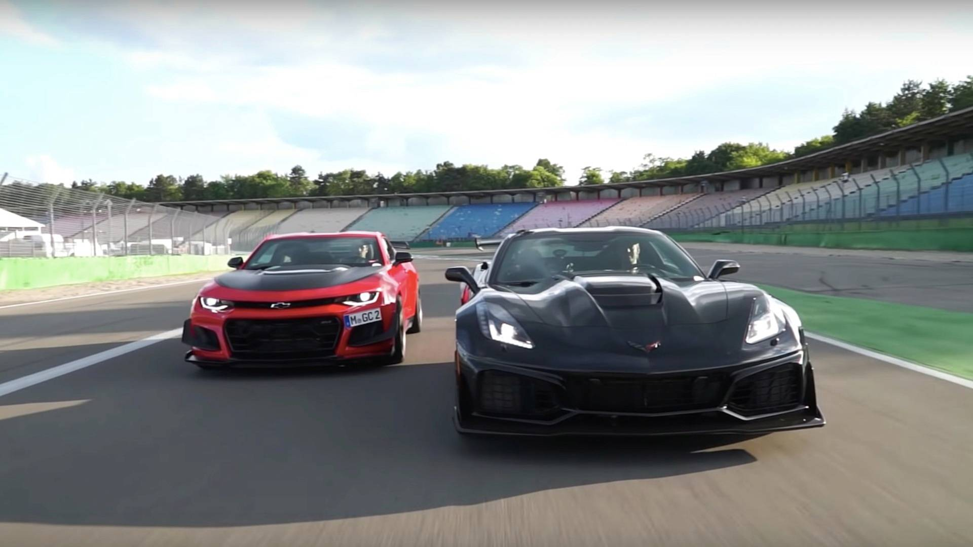 Chevy corvette zr1 is 3 seconds quicker than camaro zl1 le voltagebd Image collections