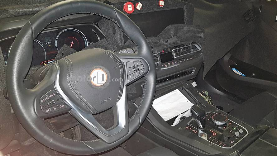 New 2019 BMW X5 Spy Photos Give A Peek Inside The Large SUV