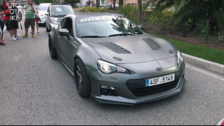 Widebody Subaru BRZ With LS3 V8 Engine Is Over-The-Top Tuning