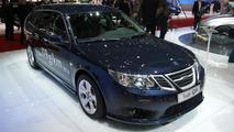 Saab 9-3 facelift live in Geneva - 01.03.2011