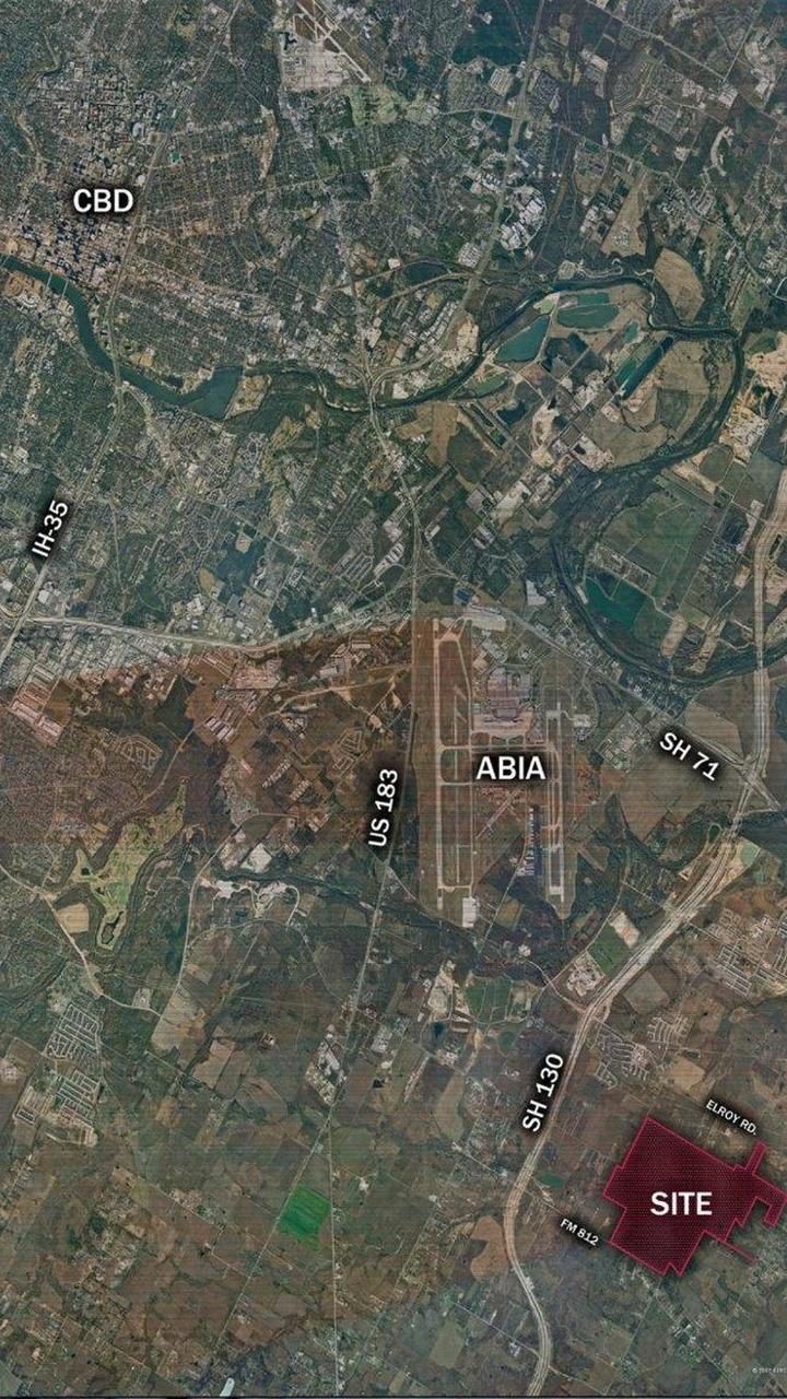 United States grand prix site map, Austin, Texas, USA, 28.07.2010
