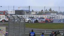 Mercedes SLS GT3 AMG Crashes during Racing Debut [video]