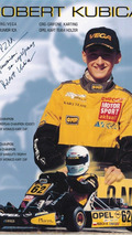 Robert Kubica flyer 1999