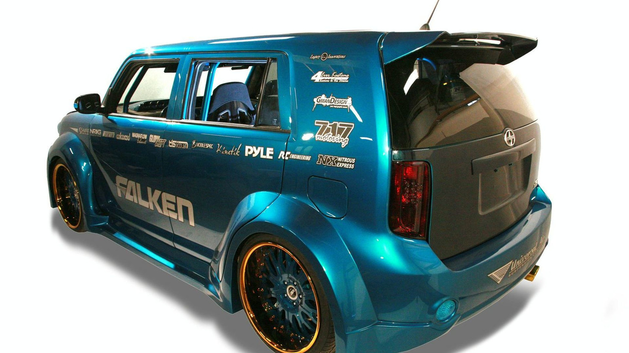 Mummbles Marketing Tuner Challenge Scion xB - SEMA 2009